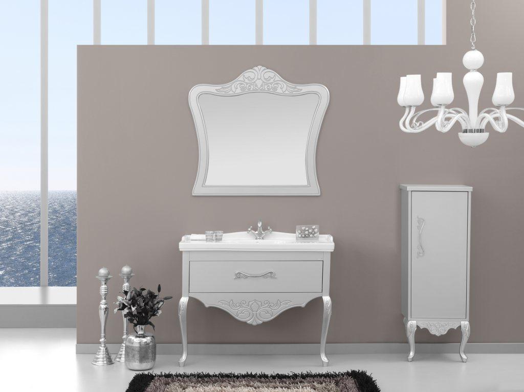 banyo dekorasyonlari gumus rengi