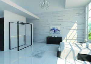 Yatak odası dekorasyonu ebeveyn banyosu