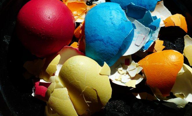 Yumurta Kabuklarından Tabak Yapımı