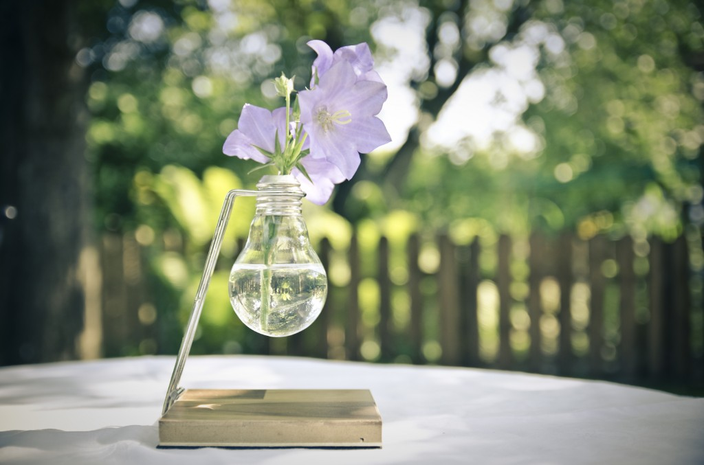 Ampul vazo yapımı