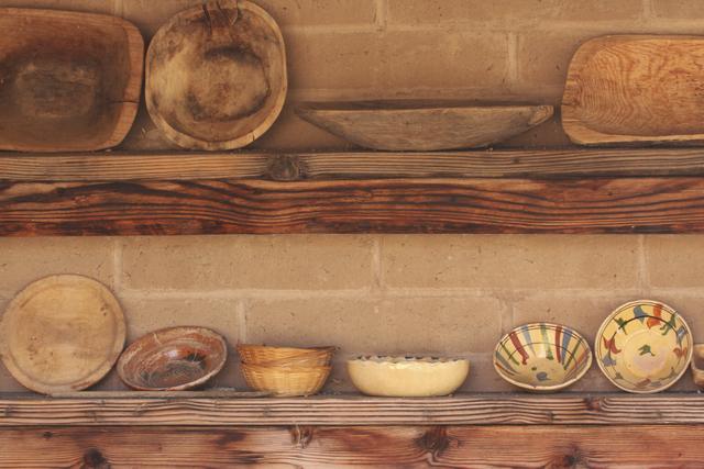 Ahşap mutfak malzemeleri