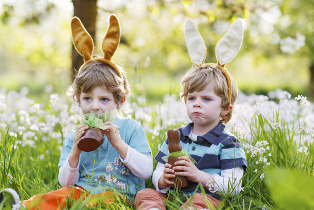 Bahçede Çocuklar