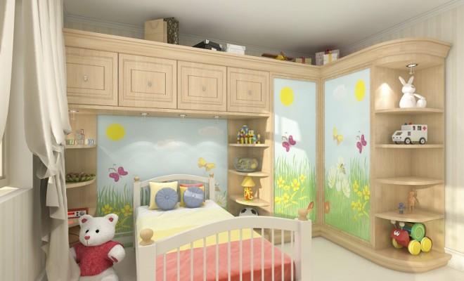 Çocuk Odası Dekorasyonunda Depolama Önerileri