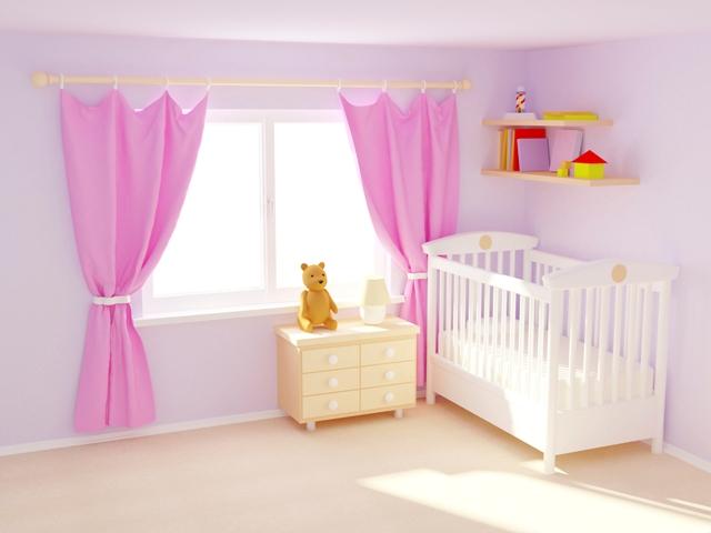 Bebek Odalarında Renklerin Kullanımı