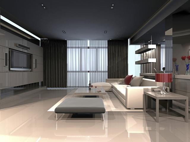 Y ksek tavanl evler i in dekorasyon nerileri evhayat for Application design interieur