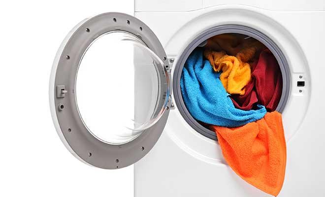 Çamaşır Makinasında Kumaş Boyama
