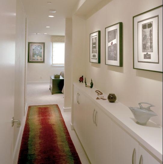 Art Display Wall and Shelf