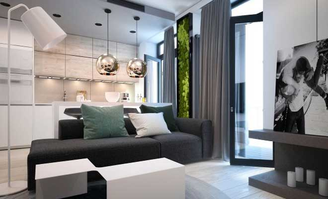 Küçük Apartman Dairesi Dekorasyonu