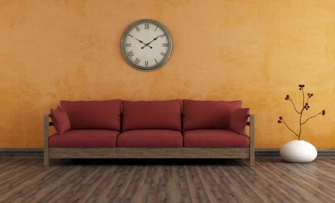 Dekorasyonda Büyük Duvar Saatleri Kullanımı
