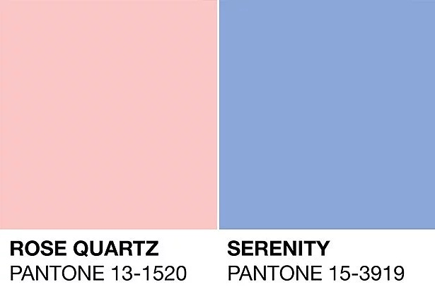 2016'nın renkleri