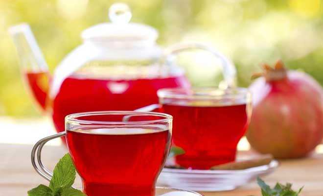 Ev Yapımı Nar Çayı