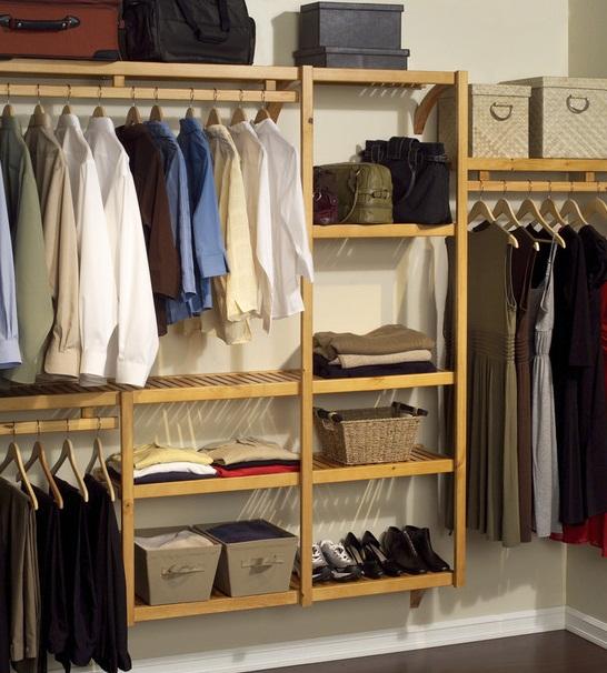 Traditional Closet Organizers