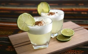Cocktail from Chile and Peru: Pisco Sour
