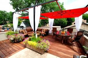 Red-umbrella-patio