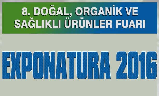 Exponatura Doğal, Organik ve Sağlıklı Ürünler Fuarı 2016