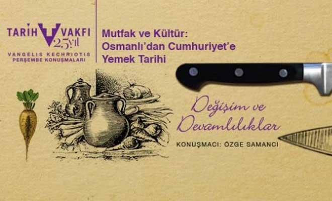 Osmanlı Saray ve İstanbul Mutfak Kültürü