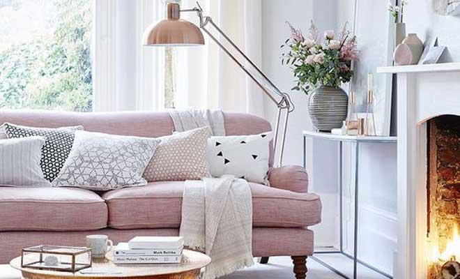 Pastel Tonlarda Oturma Odaları için Dekorasyon Önerileri