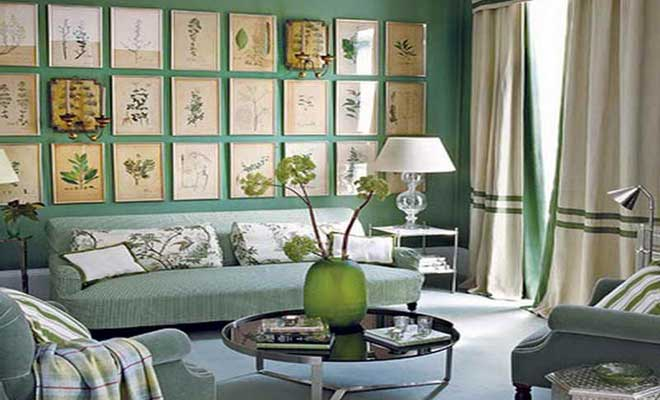 Yeil Ev Dekorasyon Fikirleri Salon Dekorasyonu