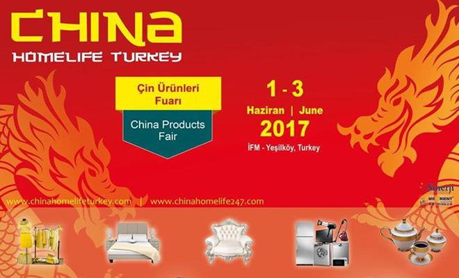 Çin Ürünleri Fuarı China Homelife 2017