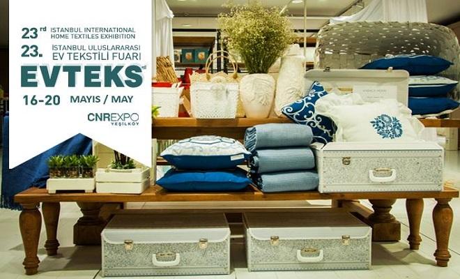 23. İstanbul Ev Tekstili Fuarı Başlıyor