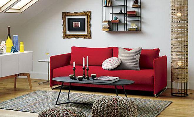 Ev Dekorasyonunda Kırmızı Renk Kullanımı