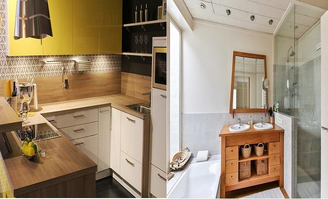 Konforlu Mutfak ve Banyo Dekorasyonu
