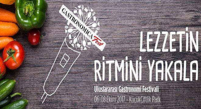 Gastronomica Fest, 6 Ekim'de KüçükÇiftlik Park'ta Başlıyor