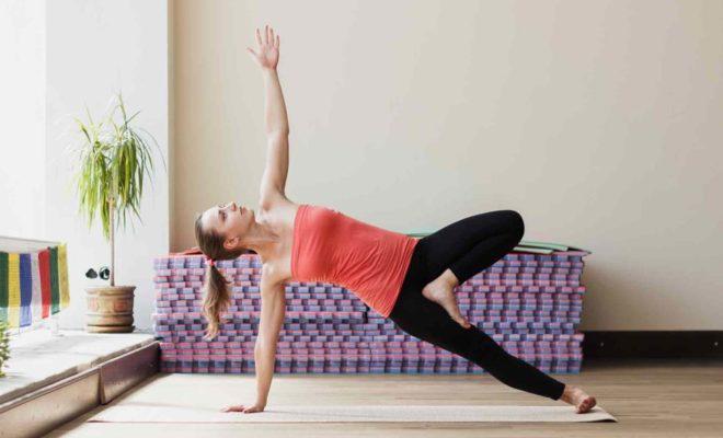 Evde Yoga Odası
