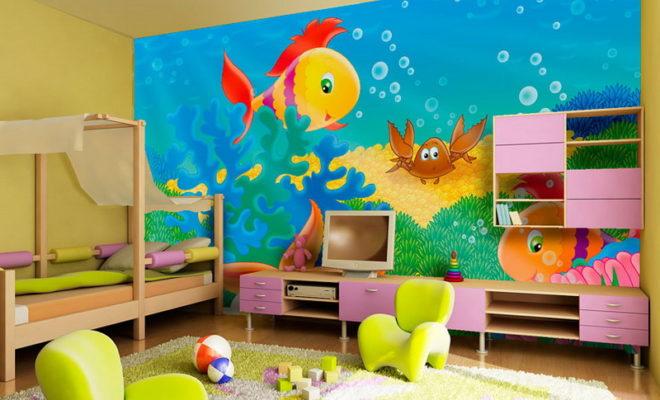 Çocuk Odası Etkinlik Köşesi Dekorasyonu