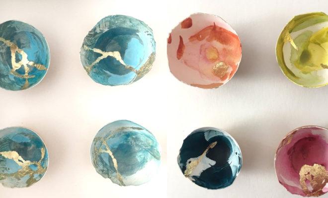 Yumurta Kabuğu ile Muhteşem Tasarımlar