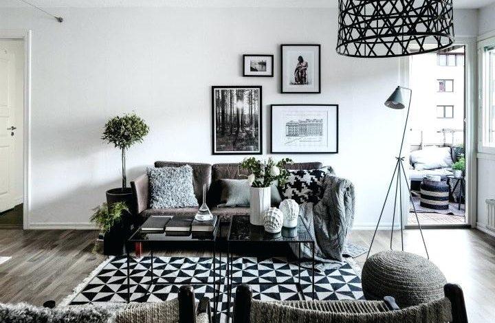 Siyah ev dekorasyonu