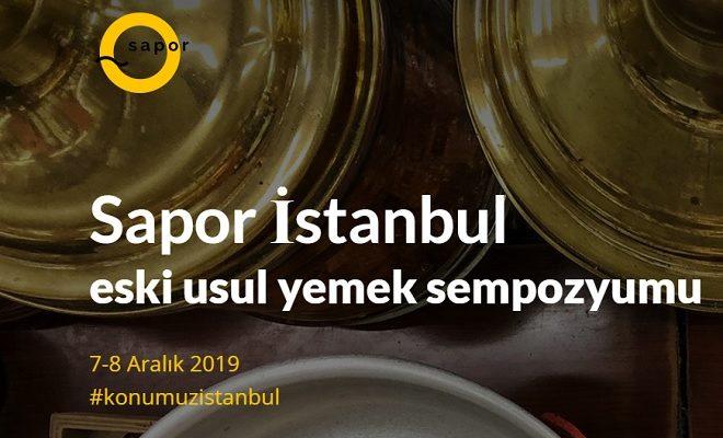 Sapor İstanbul Yemek Sempozyumu 2019