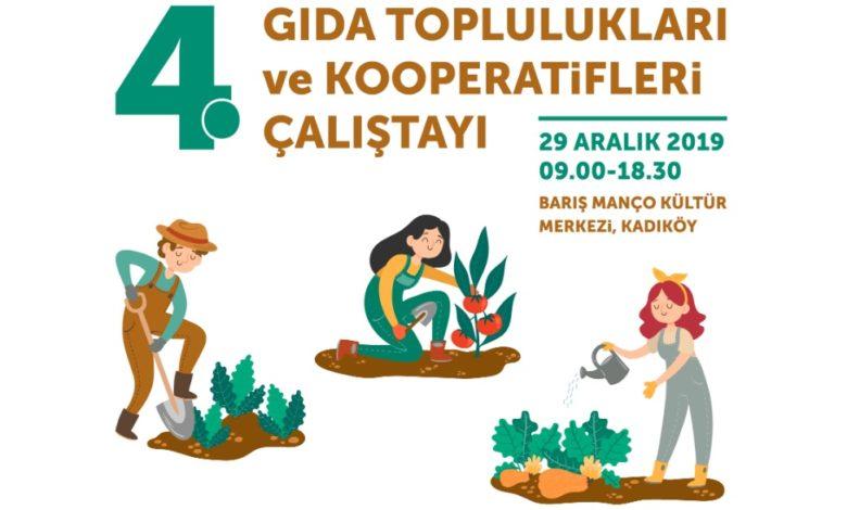 Gıda Toplulukları ve Kooperatifleri Çalıştayı