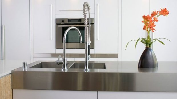 çelik mutfak temizliği