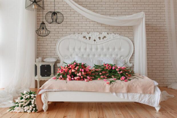 Klasik yatak odası rengi